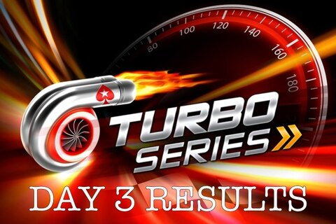 Turbo Series: Complete Day 3 results, leaders, and upcoming events
