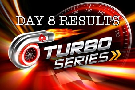 Turbo Series: Spraggy final table appearance, Stars Rewards spin-up, and full Day 8 results
