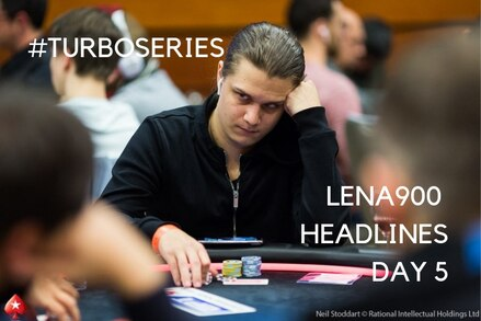 Turbo Series: Complete Day 5 results and leaders. Plus a second title for Lena900