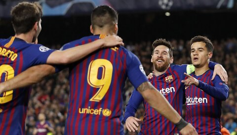 Manchester United vs Barcelona: Messi magic to roast Red Devils