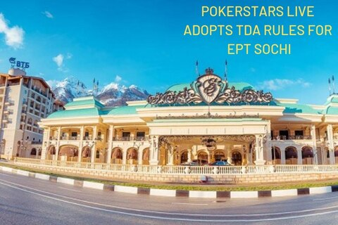 PokerStars LIVE adopts TDA rules beginning with EPT Sochi, 25-seat Mega Qualifier runs this Sunday
