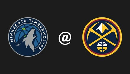 Timberwolves @ Nuggets: Denver hosts Minnesota seeking the second seed in the West