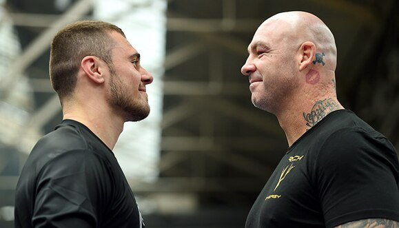 David Allen vs Lucas Browne: