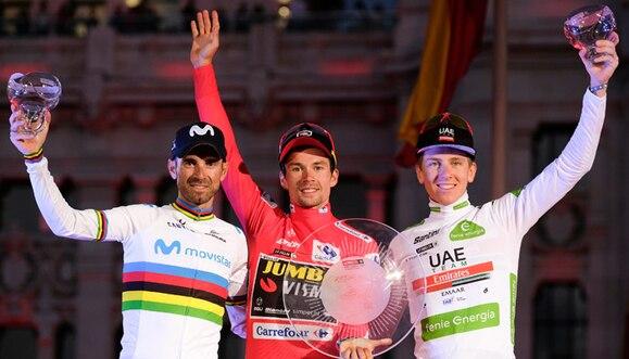 Vuelta a España: Madrid coloca en lo más alto a Primoz Roglic