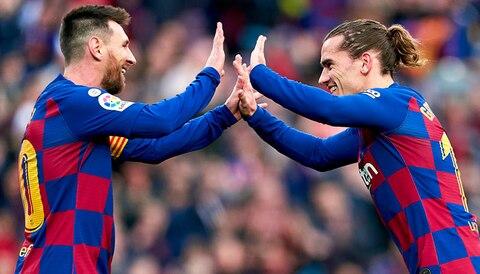 Consejos de apuestas MyBet: Messi y Griezmann apuntan con sus goles al Valencia